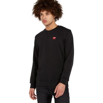 Kleidung Herren Pullover Wrangler W6589HA01 Schwarz