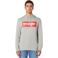 Kleidung Herren Sweatshirts Wrangler W6B9HAX37 Grau
