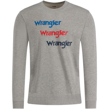 Kleidung Herren Sweatshirts Wrangler W6A5HAX37 Grau