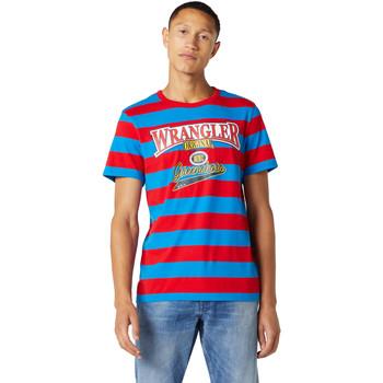 Kleidung Herren T-Shirts Wrangler W7E1FKXKL Blau