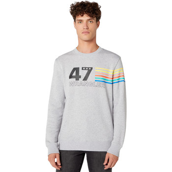 Kleidung Herren Sweatshirts Wrangler W6A5HAX03 Grau