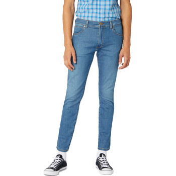 Kleidung Herren Slim Fit Jeans Wrangler W18SQ1156 Blau