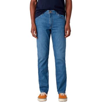 Kleidung Herren Straight Leg Jeans Wrangler W15QQ1158 Blau