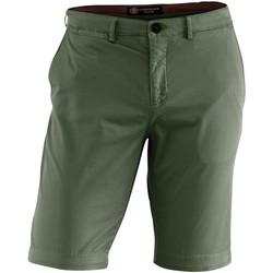 Kleidung Herren Shorts / Bermudas Lumberjack CM80647 002 602 Grün