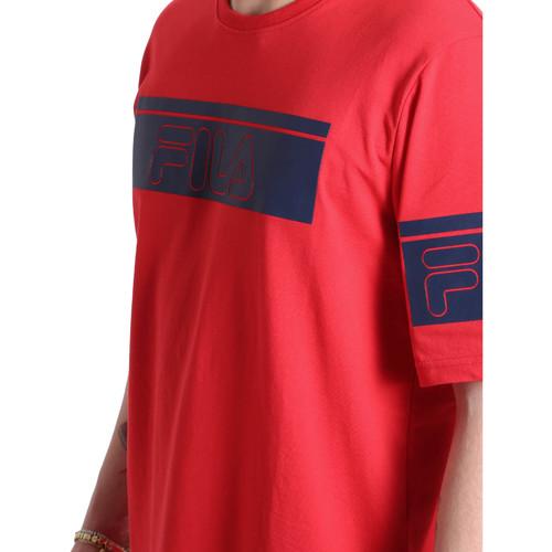Fila 683085 Rot - Kleidung T-Shirts Herren 1995 7DTdF