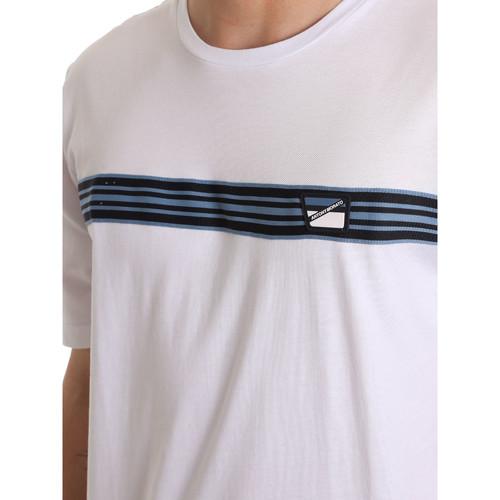 Antony Morato MMKS01686 FA100144 Weiß - Kleidung T-Shirts Herren 1950 znthm
