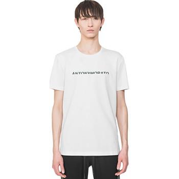 Kleidung Herren T-Shirts Antony Morato MMKS01754 FA100144 Weiß