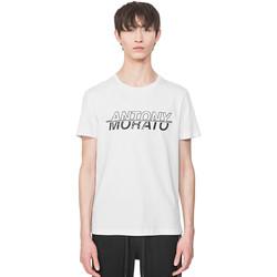 Kleidung Herren T-Shirts Antony Morato MMKS01816 FA100144 Weiß
