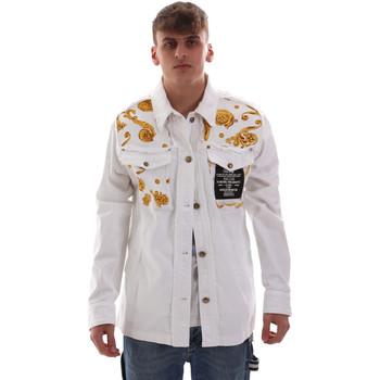 Kleidung Herren Jacken Versace C1GVB92GHRC33003 Weiß