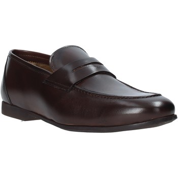 Schuhe Herren Slipper Rogers CAR01 Braun