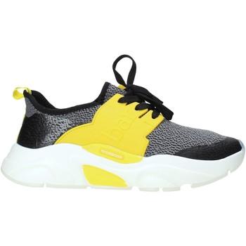 Schuhe Herren Sneaker Low Rocco Barocco N17.2 Schwarz