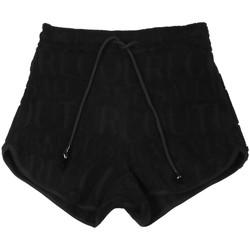 Kleidung Damen Shorts / Bermudas Versace A3HVB18513967899 Schwarz