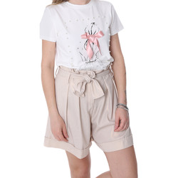 Kleidung Damen Shorts / Bermudas Fracomina FR20SP150 Beige