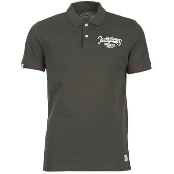 Kleidung Herren Polohemden Jack & Jones COMPANY Schwarz