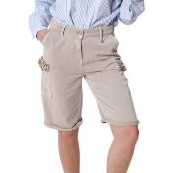 Kleidung Damen Shorts / Bermudas Fracomina FR20SP116 Beige