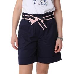 Kleidung Damen Shorts / Bermudas Fracomina FR20SP606 Blau