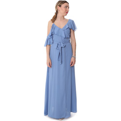 Kleidung Damen Maxikleider Fracomina FR20SP031 Blau