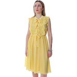 Kleidung Damen Kurze Kleider Fracomina FR20SP536 Gelb