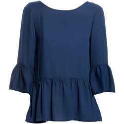 Kleidung Damen Tops / Blusen Fracomina FR20SP040 Blau