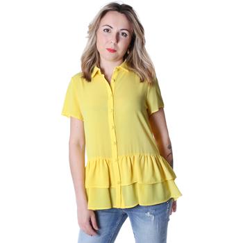 Kleidung Damen Hemden Fracomina FR20SP039 Gelb