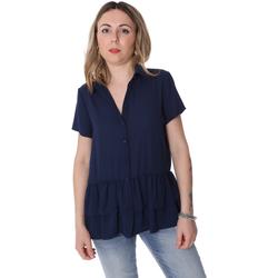 Kleidung Damen Hemden Fracomina FR20SP039 Blau