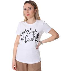 Kleidung Damen T-Shirts Fracomina FR20SP306 Weiß