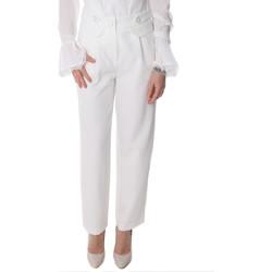 Kleidung Damen Chinohosen Fracomina FR20SP164 Weiß