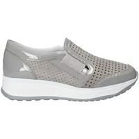 Schuhe Damen Slip on Susimoda 4782 Grau