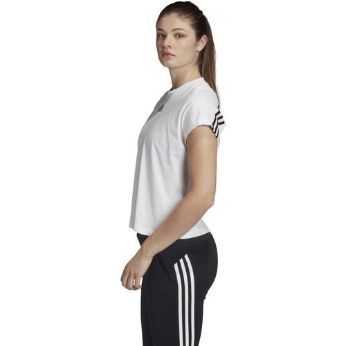 adidas Originals FL4167 Weiß - Kleidung T-Shirts Damen 2515 aTmaF