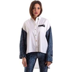 Kleidung Damen Hemden Versace B0HVB606S0683904 Weiß