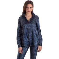 Kleidung Damen Hemden Versace B0HVB601S0683904 Blau