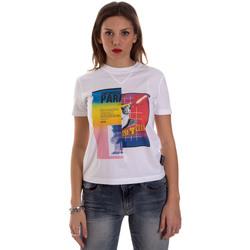 Kleidung Damen T-Shirts Versace B2HVB7V630331003 Weiß