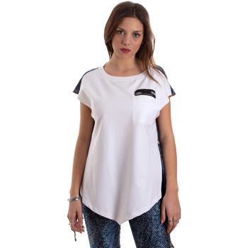Kleidung Damen T-Shirts Versace D3HVB657S0683904 Weiß