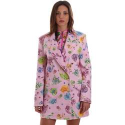 Kleidung Damen Jacken / Blazers Versace C2HVB507SN75SK69 Rosa