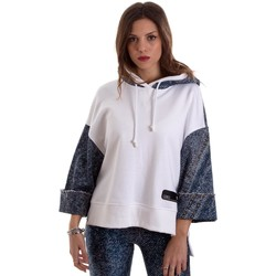 Kleidung Damen Sweatshirts Versace B6HVB791SN900904 Weiß