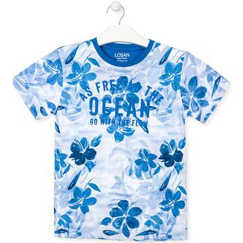 Kleidung Jungen T-Shirts Losan 013-1003AL Blau