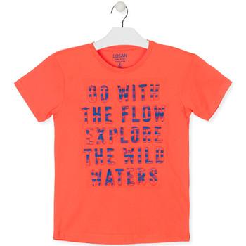 Kleidung Jungen T-Shirts Losan 013-1005AL Orange
