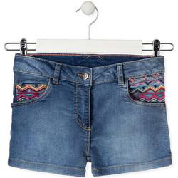 Kleidung Kinder Shorts / Bermudas Losan 014-6010AL Blau