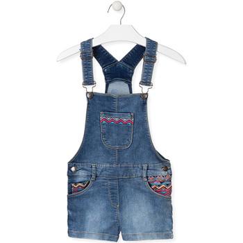 Kleidung Kinder Overalls / Latzhosen Losan 014-6017AL Blau