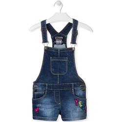 Kleidung Kinder Overalls / Latzhosen Losan 014-6027AL Blau