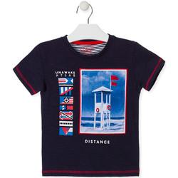 Kleidung Kinder T-Shirts Losan 015-1001AL Blau