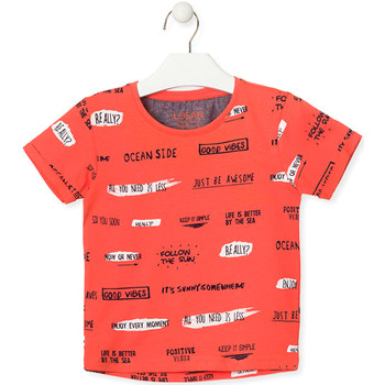 Kleidung Kinder T-Shirts Losan 015-1003AL Orange