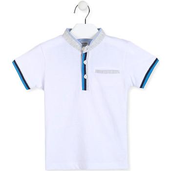 Kleidung Jungen Polohemden Losan 015-1791AL Weiß