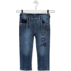 Kleidung Kinder Slim Fit Jeans Losan 015-6023AL Blau