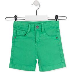 Kleidung Kinder Shorts / Bermudas Losan 015-9009AL Grün