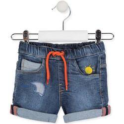 Kleidung Kinder Shorts / Bermudas Losan 017-6017AL Blau