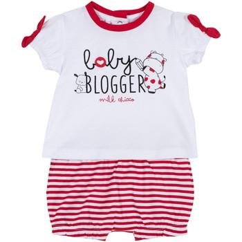 Kleidung Mädchen Kleider & Outfits Chicco 09076365000000 Weiß