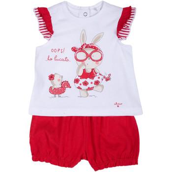 Kleidung Mädchen Kleider & Outfits Chicco 09076380000000 Weiß