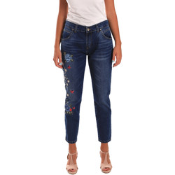 Kleidung Damen Slim Fit Jeans Y Not? 18PEY096 Blau