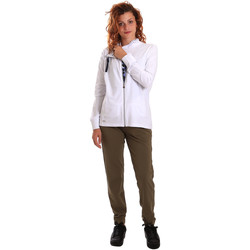 Kleidung Damen Jogginganzüge Key Up 5G40T 0001 Weiß
